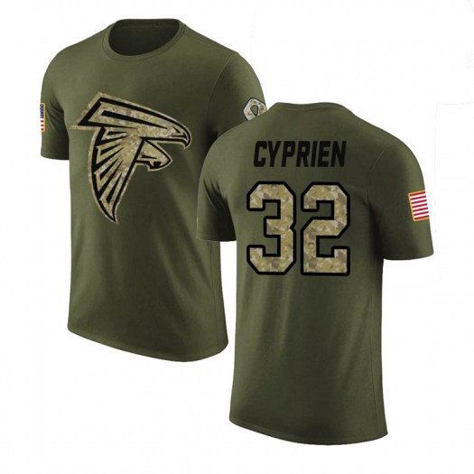 Johnathan Cyprien Atlanta Falcons Youth Legend Olive Salute to Service T-Shirt